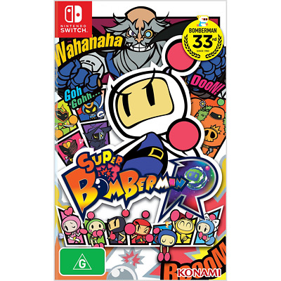 Super Bomberman R - Switch - PREOWNED