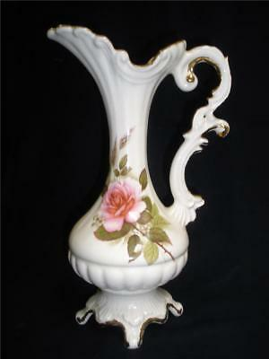Stunning Porcelain Decorative Jug Vase Made In Italy