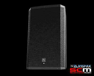 Electro Voice Ev Zlx15Pax 1000 Watt Powered 2 Way Speaker