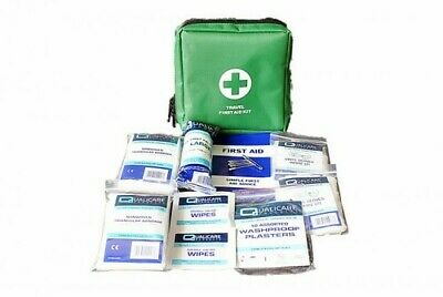 HSE Compliant 1 Single Person First Aid Kit & Pouch Workplace Home CE Marked