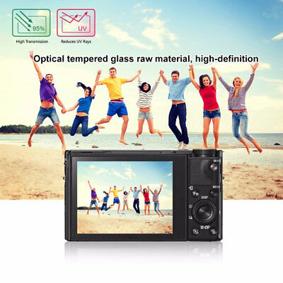 2.5D 9H Hardness SLR Camera Tempered Glass Dustproof Screen Film For Sony RX100