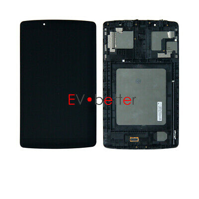 CA FOR LG G Pad F 8.0 V495 V496 UK495 AK495 LCD Screen Touch Digitizer +Frame