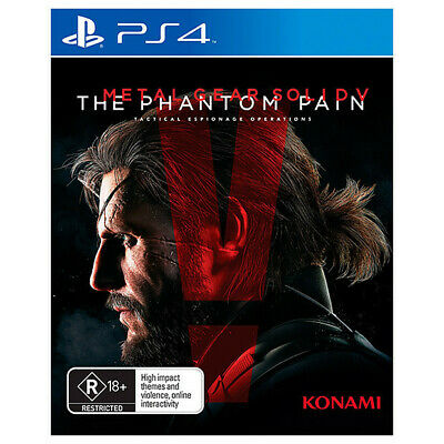 Metal Gear Solid V The Phantom Pain PS4 (Aussie New Sealed) 5 Sony PlayStation 4