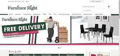 Furniture Website Online Business For Sale