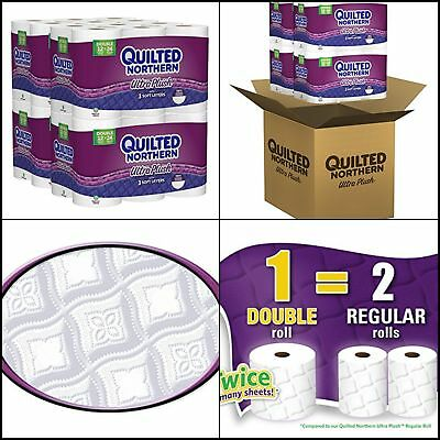 Quilted Northern Ultra Plush Bath Tissue 48 Or 96 Double Rolls