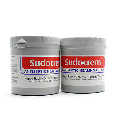 New Sudocrem Antiseptic Healing Cream 400g 2 Pack