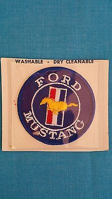 "Ford  Mustang            ""patch"" /  Vintage    70S   Nos  Carded"