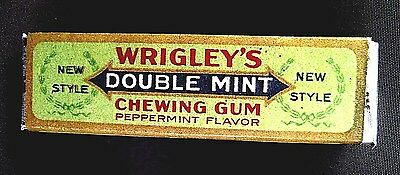 Vintage Wrigley's Double Mint Gum Full Five Stick Pack. N.o.s. Mint
