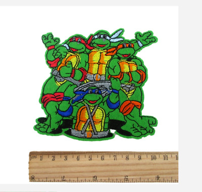 Teenage Mutant Ninja Turtles embroidery patch (11cm)  Iron On TMNT