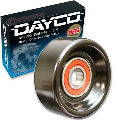 Dayco Smooth Drive Belt Idler Pulley for 2003-2008 Dodge Ram 1500 5.7L V8 le