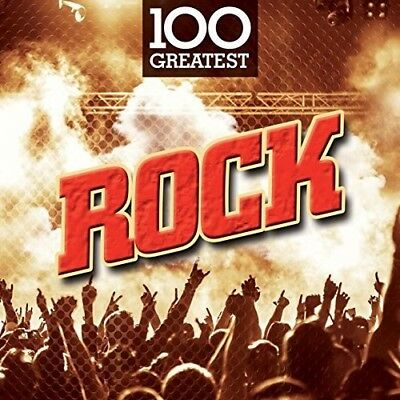 Various Artists - 100 Greatest Rock / Various [New CD] UK - Import