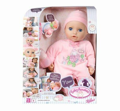 Baby Annabell Interactive 46Cm -18'' Zapf Creation Accessories Doll Rare New