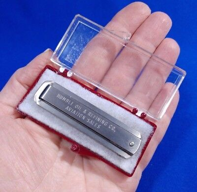 Vgt HUMBLE OIL & REFINING CO. AVIATION SALES POCKET KNIFE PRESENTATION GIFT NIB