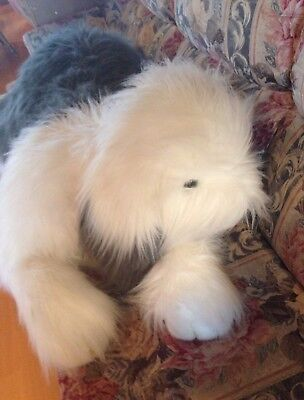 JUMBO OLD ENGLISH SHEEPDOG Plush BIG Huge STUFFED TOY  Dog