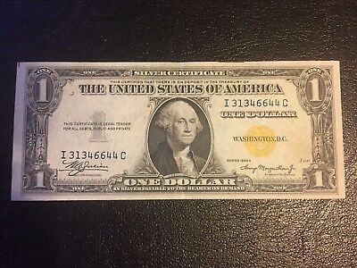 FR-2306 1935 A Series North Africa WWII $1 One Dollar Silver Certificate VF+