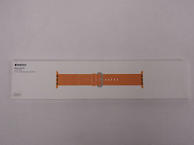 Apple Watch MM9R2AM/A 38MM Woven Nylon Band - Gold/Red GENUINE  NEW