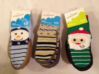 NWT Jumping Beans Infant Baby Toddler Slipper Socks Non Slip Choose One