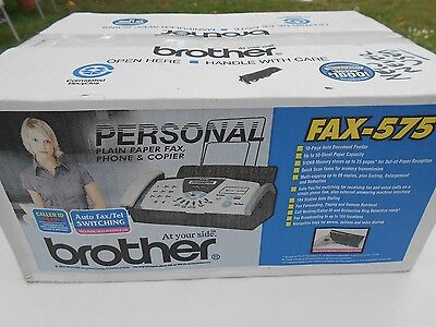 Brother FAX-575 Plain Paper Thermal Transfer Fax Phone Copier