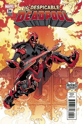 DESPICABLE DEADPOOL #290 - Silva Phoenix Variant - NM - Marvel - Presale 12/13