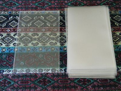 "25 Plastic Postcard Protectors Sleeves 4"" By 6"""