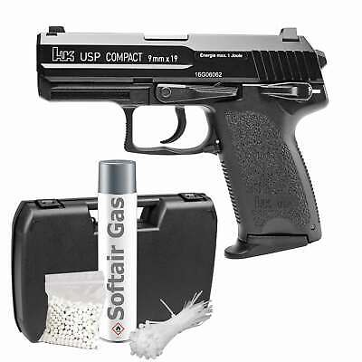 Heckler & Koch USP Compact Softair-Pistole 6 mm BB Gas Blowback > 0,5 J (P18)
