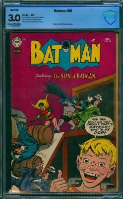 Batman # 88  The Son of Batman !  CBCS 3.0 scarce Golden Age book !