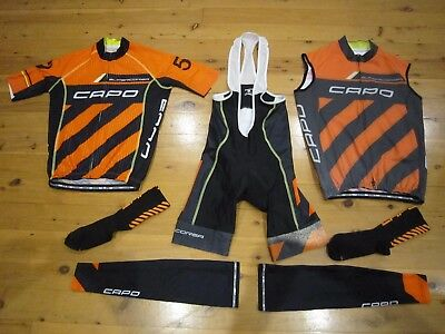 Capo Supercorsa Aero Race Kit.jersey,bibs+Vest.near New.made In Italy.cost$800+