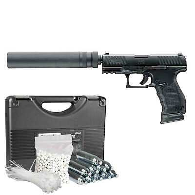 Walther PPQ M2 Duty Kit Softair-Co2-Pistole 6 mm BB Blowback > 0,5 Joule (P18)