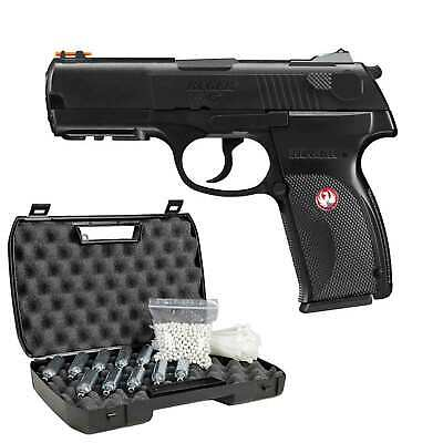 Ruger P345 Softair-Co2-Pistole Kaliber 6 mm BB NBB > 0,5 Joule (P18)
