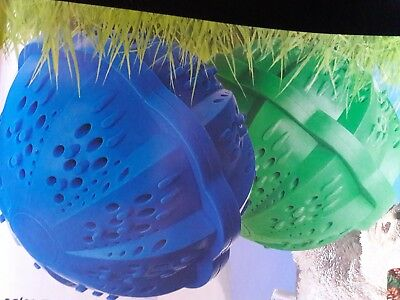 NEW!! Tiande Tourmaline washing spheres x 2 for 400 washes