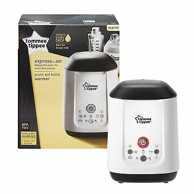 Tommee Tippee Express AND GO Feeding Bottle & Pouch & Food Electric Warmer