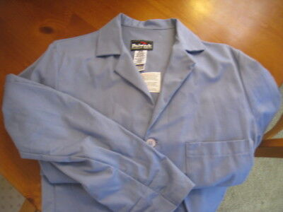 Bulwark Lab Coat - Flame Resistant - Extra Small XS - Light Blue