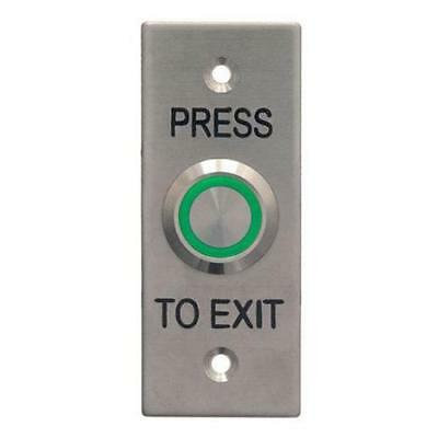 New Acss Exit Button Wes1911 Illuminated Small (Ip65)