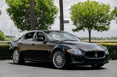 2012 Maserati Quattroporte 4dr Sedan S 12 Maserati QP S - 425HP - 20 in Multi Spke Wheels, Red Calipers, Navi, Moonroof