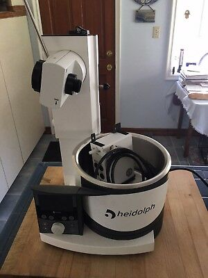 Heidolph G1 Rotovap w/motorized lift and complete glassware set. Never Used!