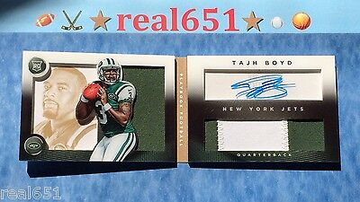 2014 Playbook Gold TAJH BOYD Rookie 2-Color Patch Auto /99 | Atomic | Variation