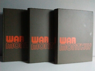 WAR MONTHLY Magazine Issues 1 to 25 (no 23) with Official Binders - Collectable