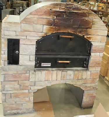 Natural Gas Stone Faced Pizza Shop Oven / Stove, Restaurant, Outdoor Kitchen