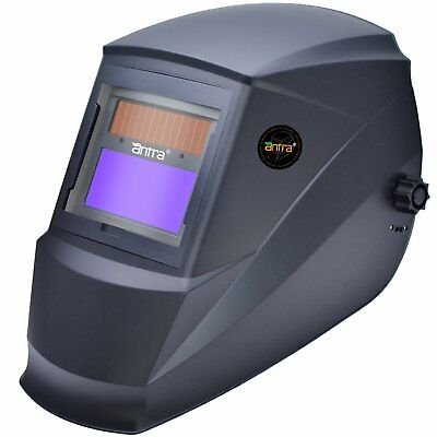 Antra™ AH6-220-0000 Solar Power Auto Darkening Welding Helmet Shade 4/5-9/9-13