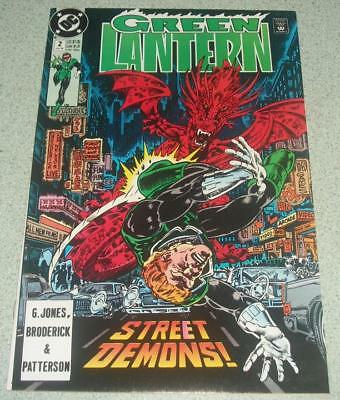 Green Lantern #2 NM (1990) Hal Jordan  Guy Gardner