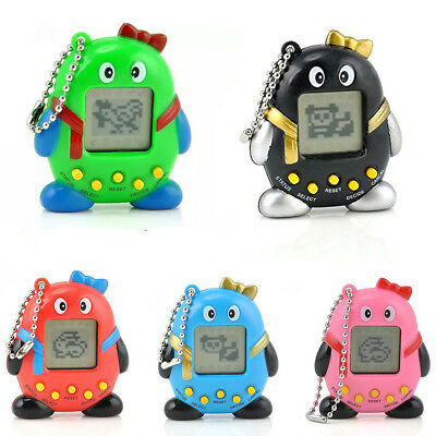 Black/Blue/Red/Pink & Green Tamagochi Cyber Virtual Pet Retro Toy 168 in 1