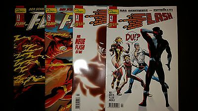 FLASH (deutsch) # 1 + 2 + 3 + 4 KOMPLETT - DINO VERLAG 1999 / 2000 - TOP