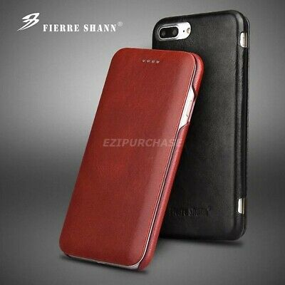 Luxury Genuine Leather Magnetic Flip Case Cover For Apple iPhone XS MAX XR 8 7+