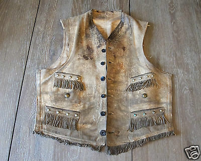 Very fine Vintage Biker Early 1900'S Native American Vest