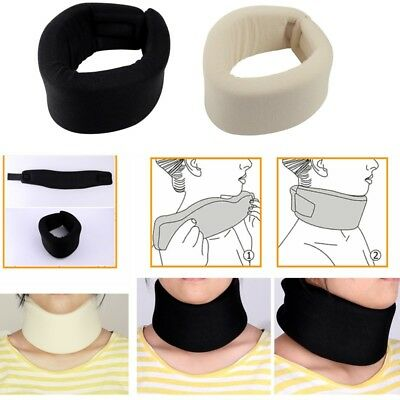 Soft Foam Neck Support Brace Cervical Collar Pain Relief Guard For First Aid