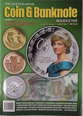 The Australasian Coin & Banknote Volume 20 Number 7 August 2017 Magazine