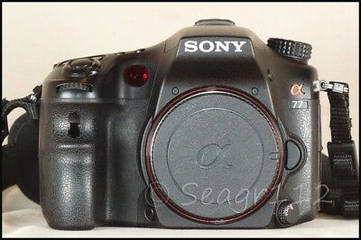 Sony Alpha SLT-A77 24.3MP Digital SLR/SLT Camera - Body Only - 7k Clicks