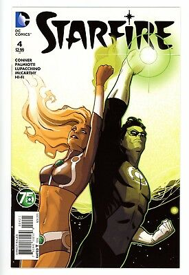 Starfire #4 - Green Lantern Variant Cover By Lee Garbett
