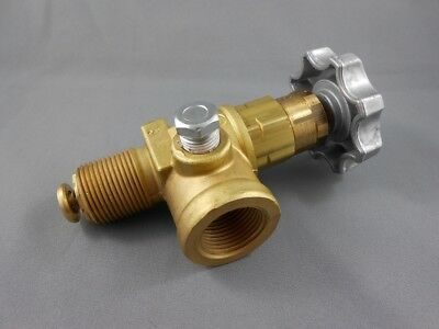 Catering Restaurant Transfer Valve 3/4Npt With Excess Flow Valve
