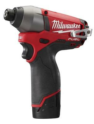 MILWAUKEE-2453-22 M12 FUEL 1/4In  Hex Impact Driver Kit